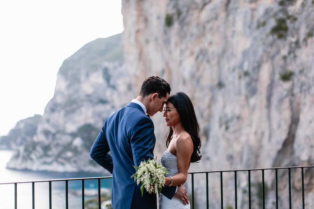Matrimonio elegante a Capri
