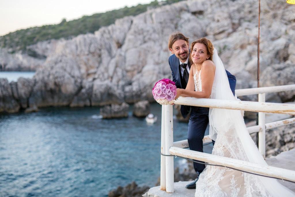 Ricevimento nozze a Capri